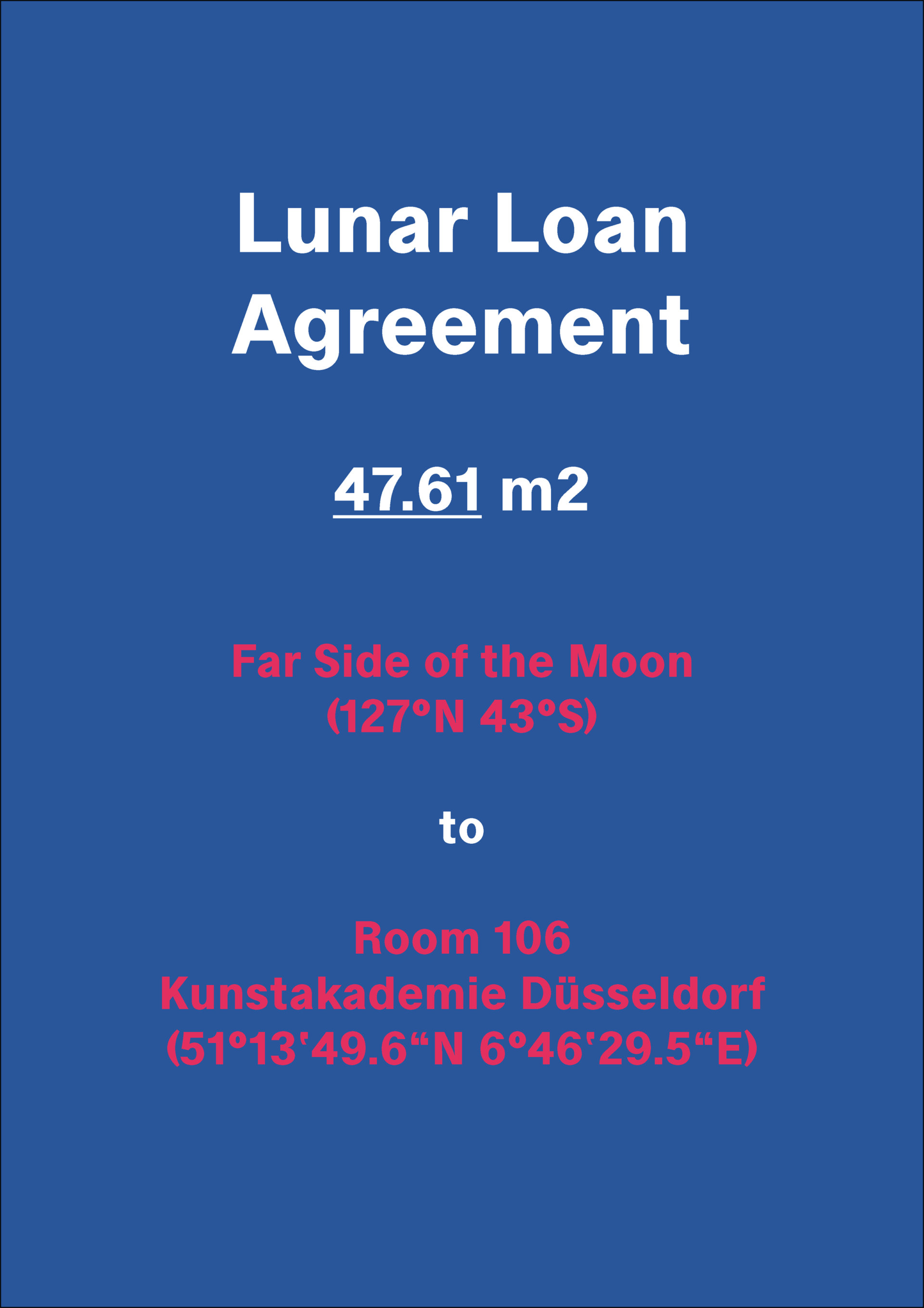 Klasse John Morgan Lunar Loan Agreement