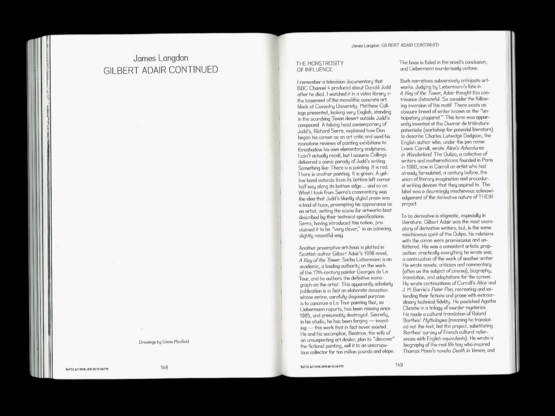 Klasse John Morgan Raum 106, Issue 1